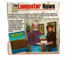 Winner Capture Lancaster Photo Contest